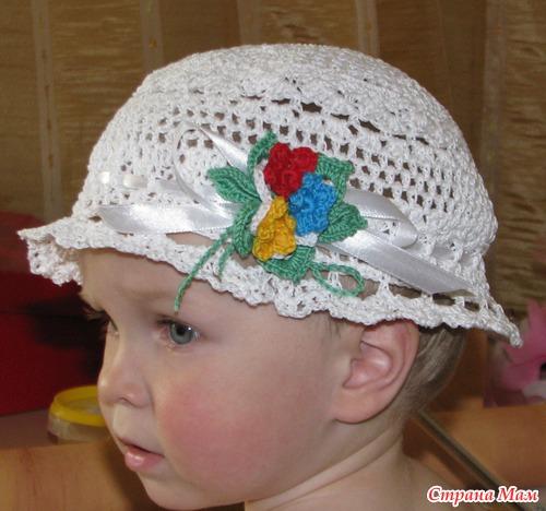 Мои летние вязалки для детских головушек