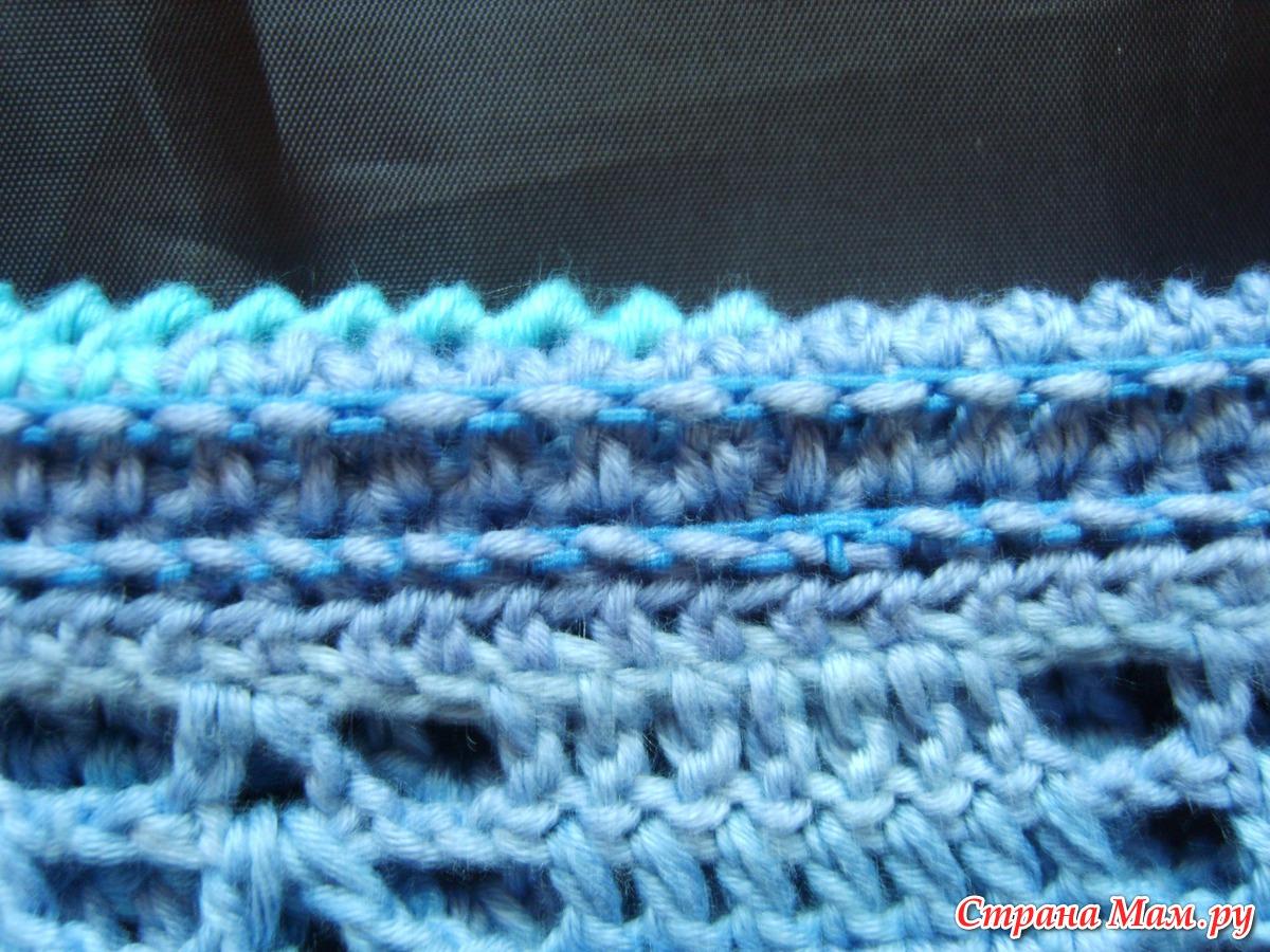 Вязание пончо крючком схемы. Более 20 схем 91