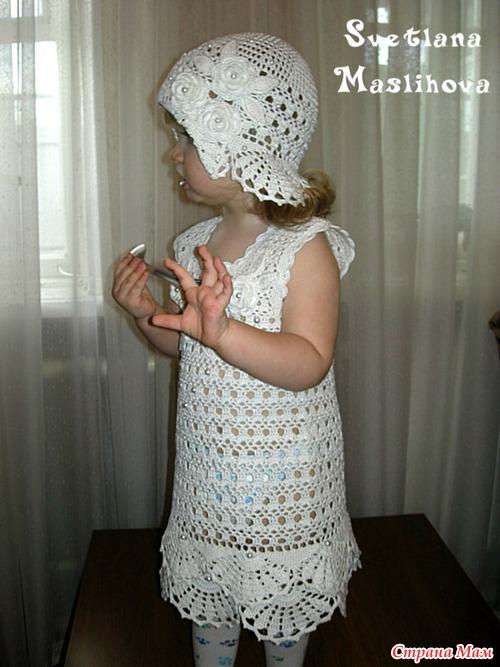 Белоснежный наряд для маленькой леди.