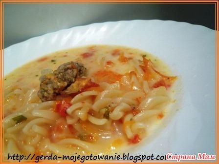 Голландский томатный суп