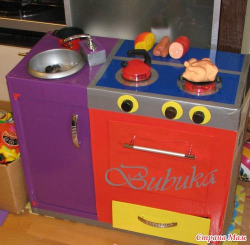 МК. Детский кухонный гарнитур (много фото)