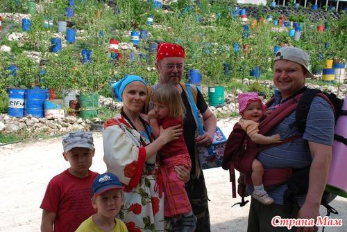 Первомайский поход выходного дня с малышами. Качи-Кальон и скит Св. Анастасии