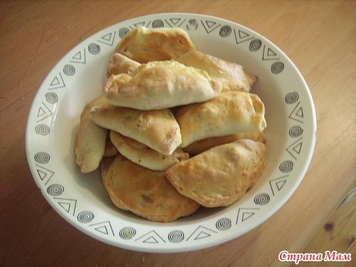 Корт (кэрт) - начинка из творога, татарская кухня