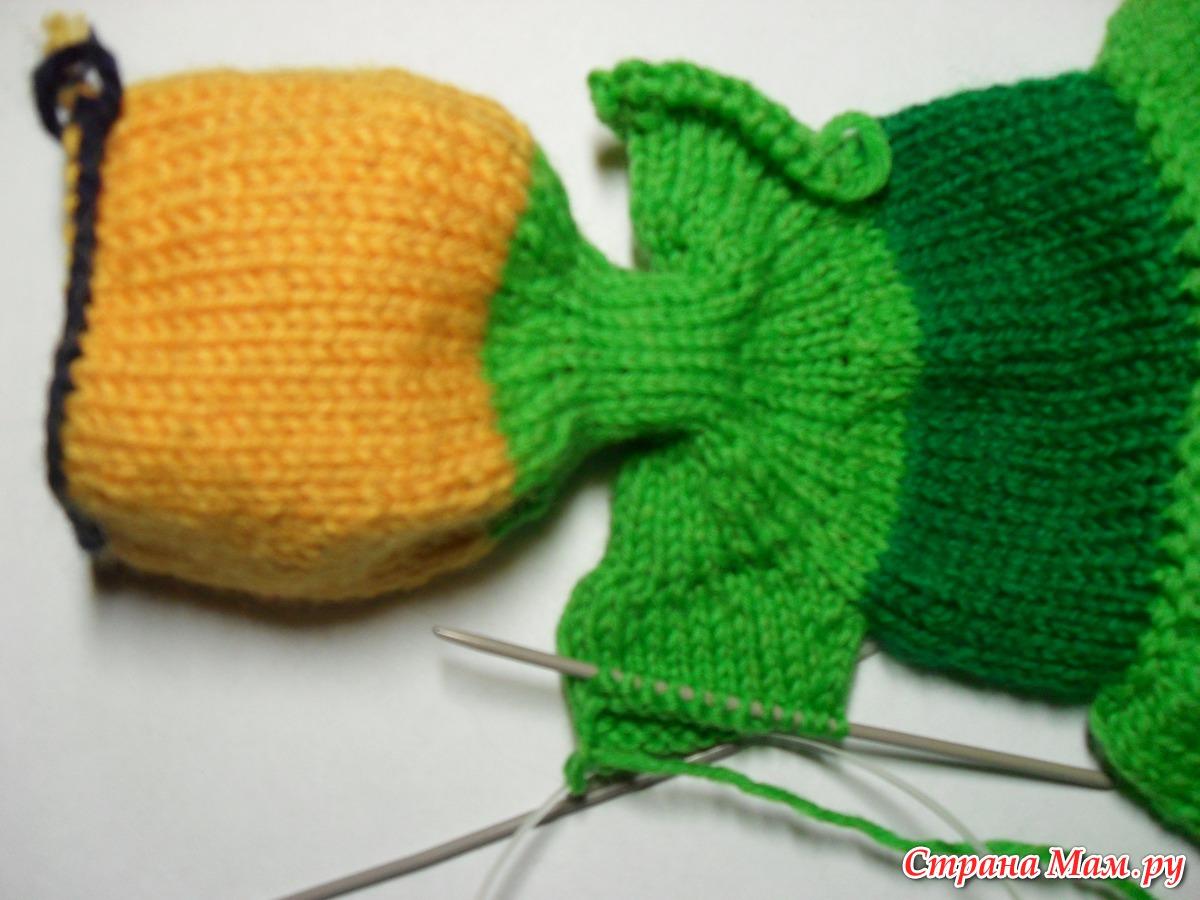 Пуловер с оленями - Описание вязания, схемы вязания 12