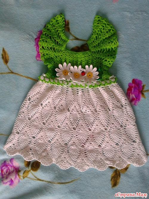 Красивое платьице для девочек!!!