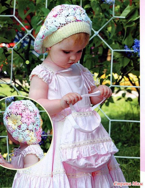 Идеи для детской одежды в ирландской технике