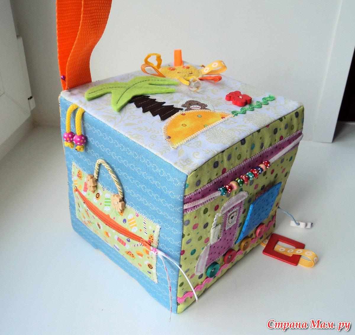 Развивающий кубик своими руками фото 439