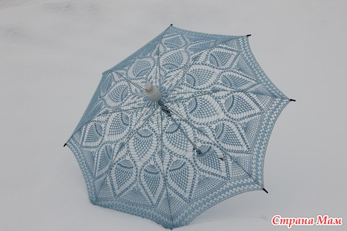 Лето наступило?! Вяжем зонтики в хорошей компании!