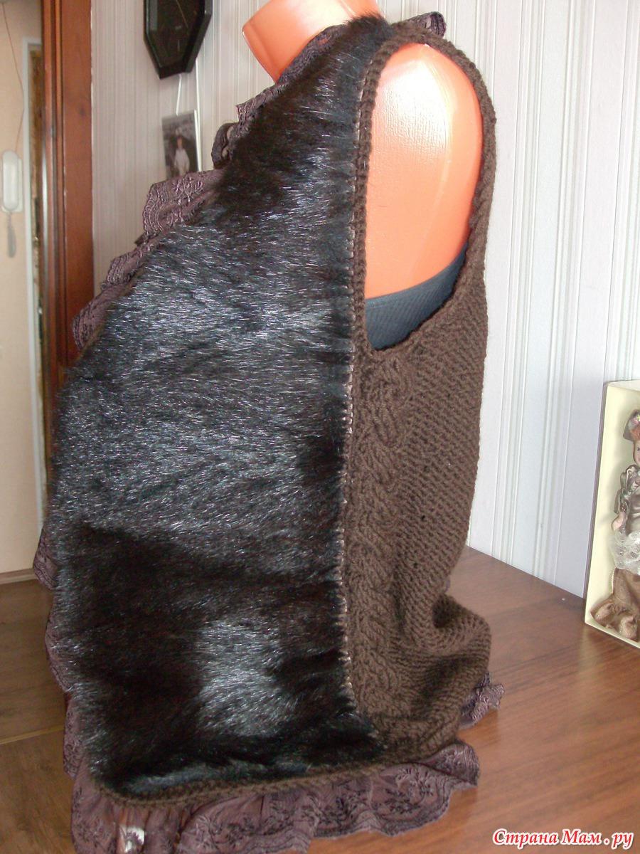 Вязание из меха и с мехом