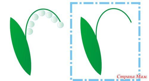 Рисуем ватными палочками или пальчиками (шаблоны)