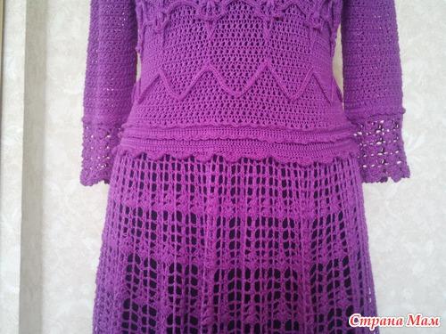 *Платье Фуджи по мотивам Ванессы Монторо