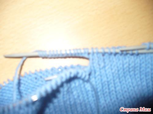 Штанишки для малыша спицами (как вяжу их я)