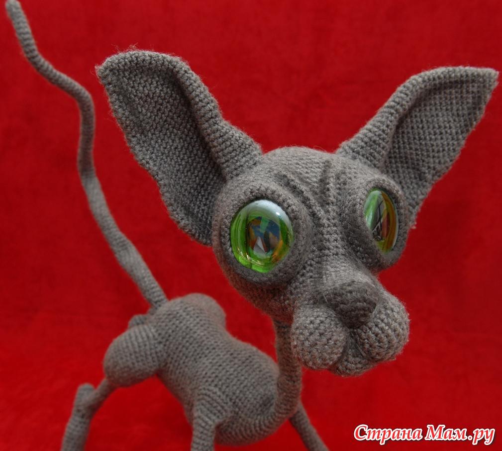 Одежда для кошек: Свитер реглан для кота. Инструкция
