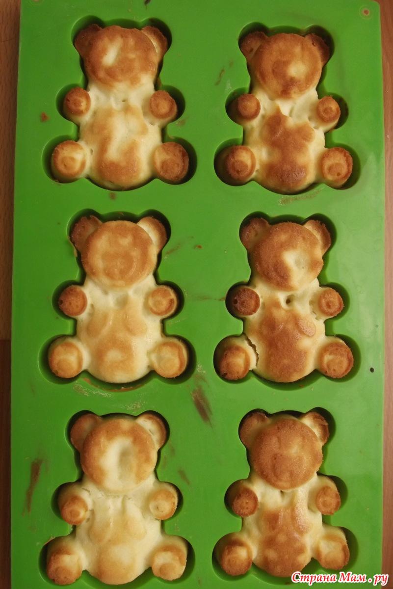 рецепт печенья для детей для силиконовых форм