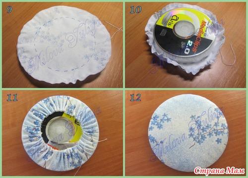 МК - Органайзер на дисках для иголок и ниток