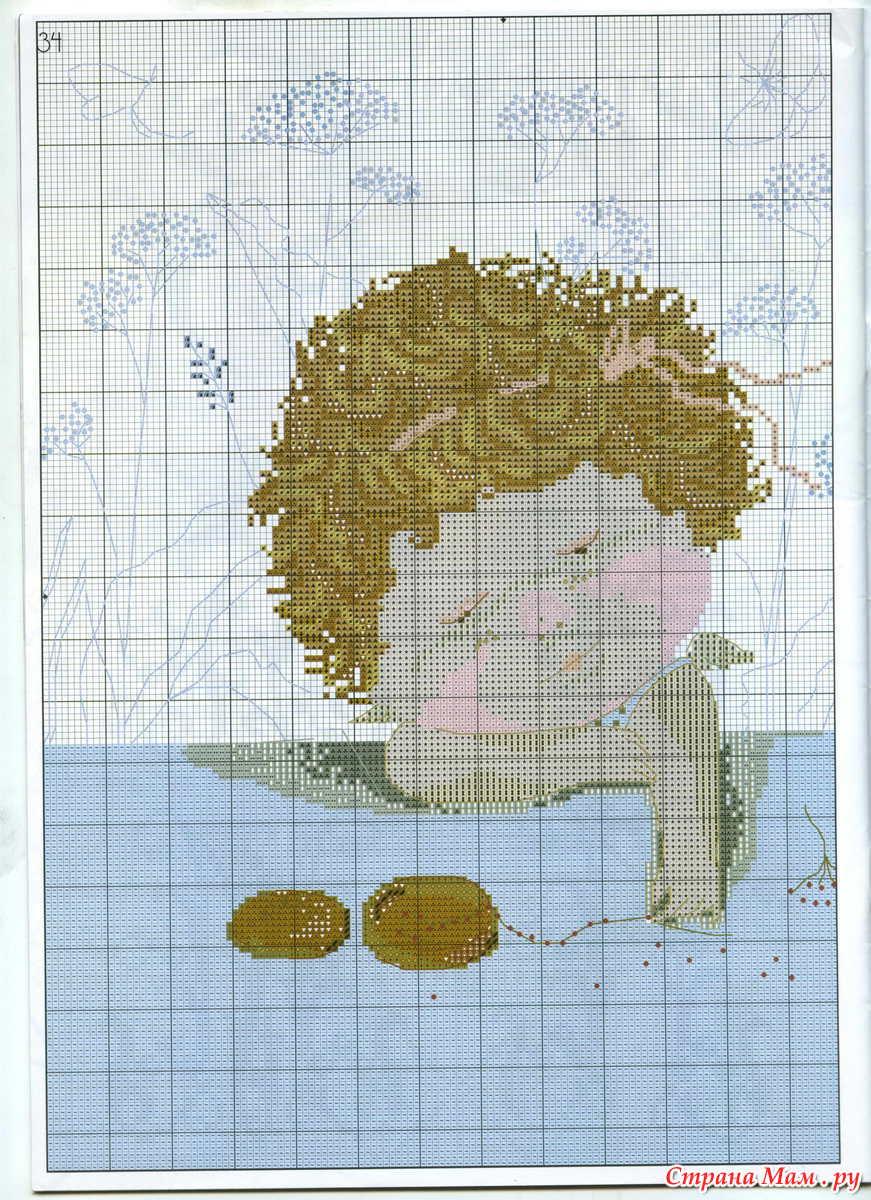 Схемы вышивки по картинам Гапчинской. Поделитесь de5c381ad07ad