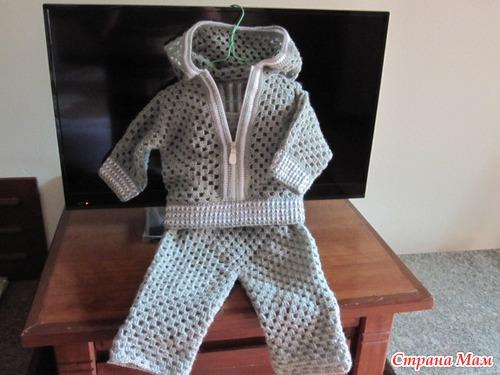 Пуловер шестиугольник