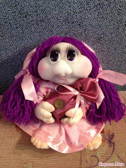 Еще одна кукла на удачу