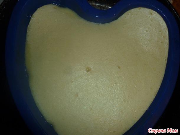 "Запеканка ""Алое сердце"""