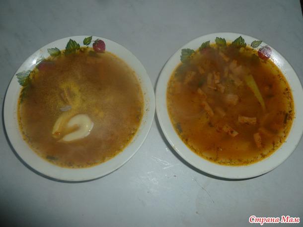 """Суп """"гречанка"""""""