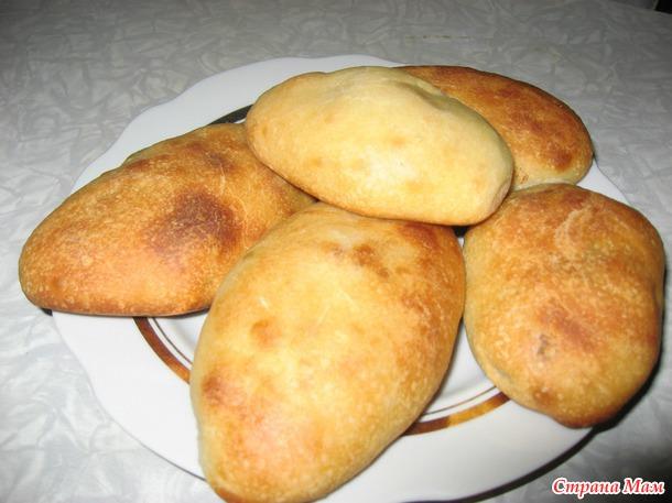 Пирожки с капустой из пресного теста