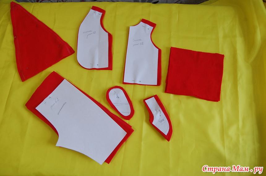 Выкройка костюма санта клауса своими руками фото 574