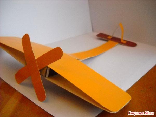 Из картона поделки самолеты