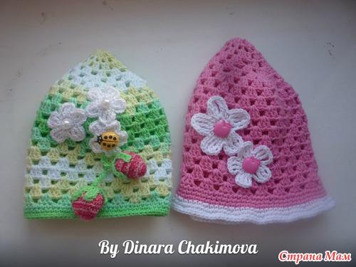 Вдохновляют на вязание... мечты о лете)))