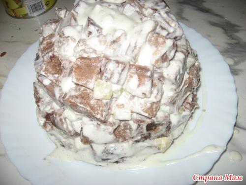"""Торт """"Панчо"""" в микроволновке.."""