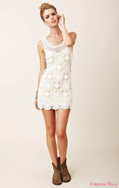 . Вязаное платье Eternal Sunshine Creations.