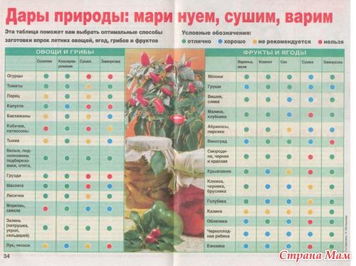 Дары природы: маринуем, сушим, варим, морозим