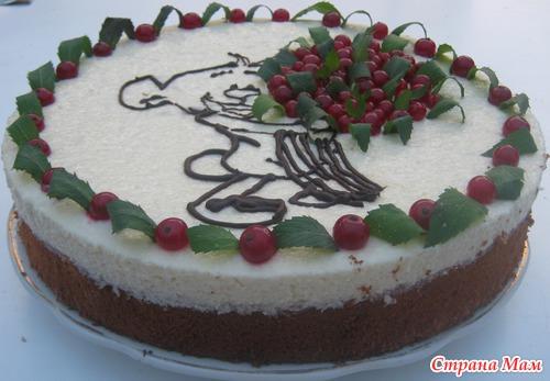 Тортик для племяшки