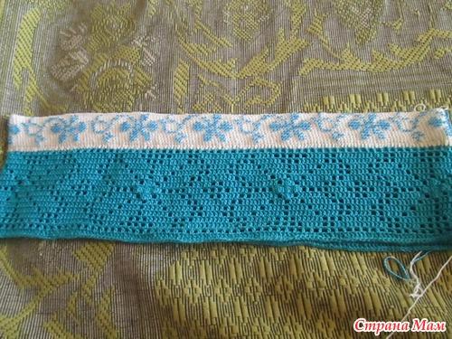 Красивое платье. Филейное вязание. Онлайн открыт!