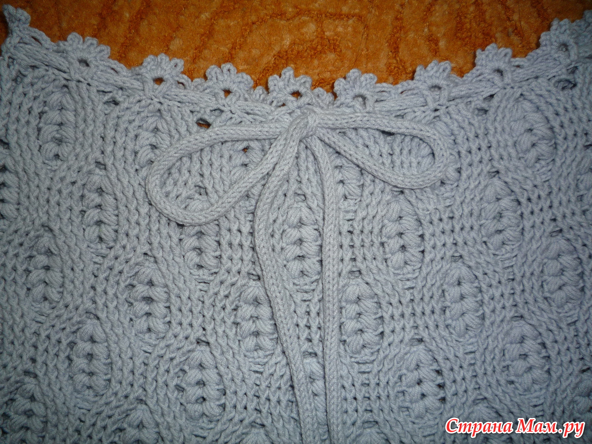 шорты узором колосок вязание страна мам