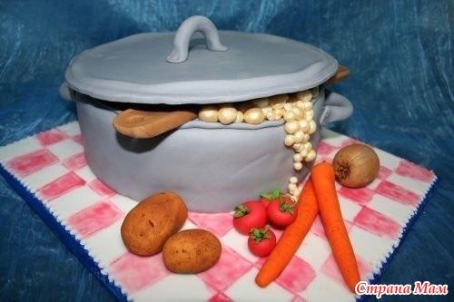Кулинария: креативные торты