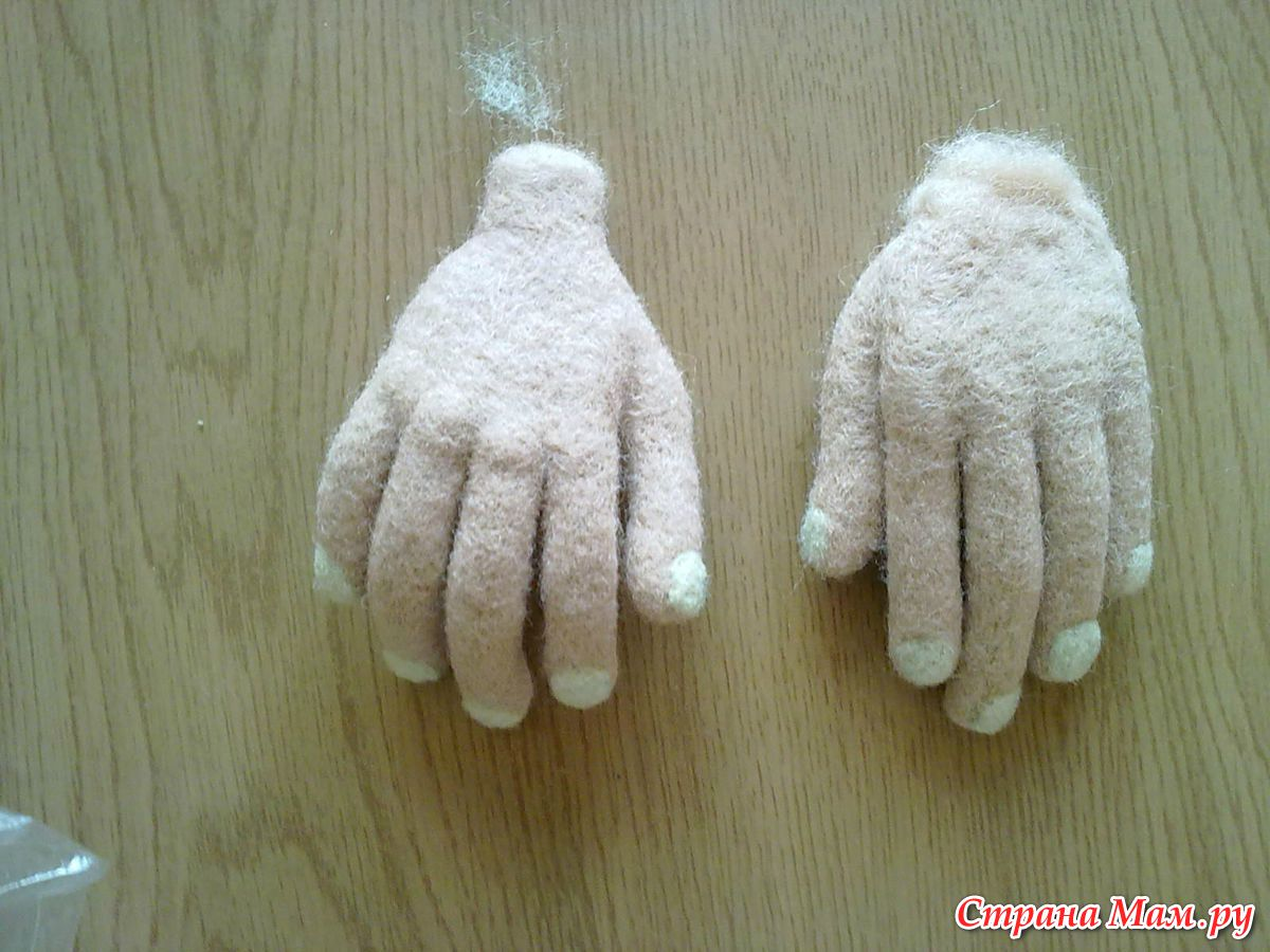 Валяные куклы своими руками фото 7