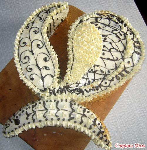 Тортик-бабочка