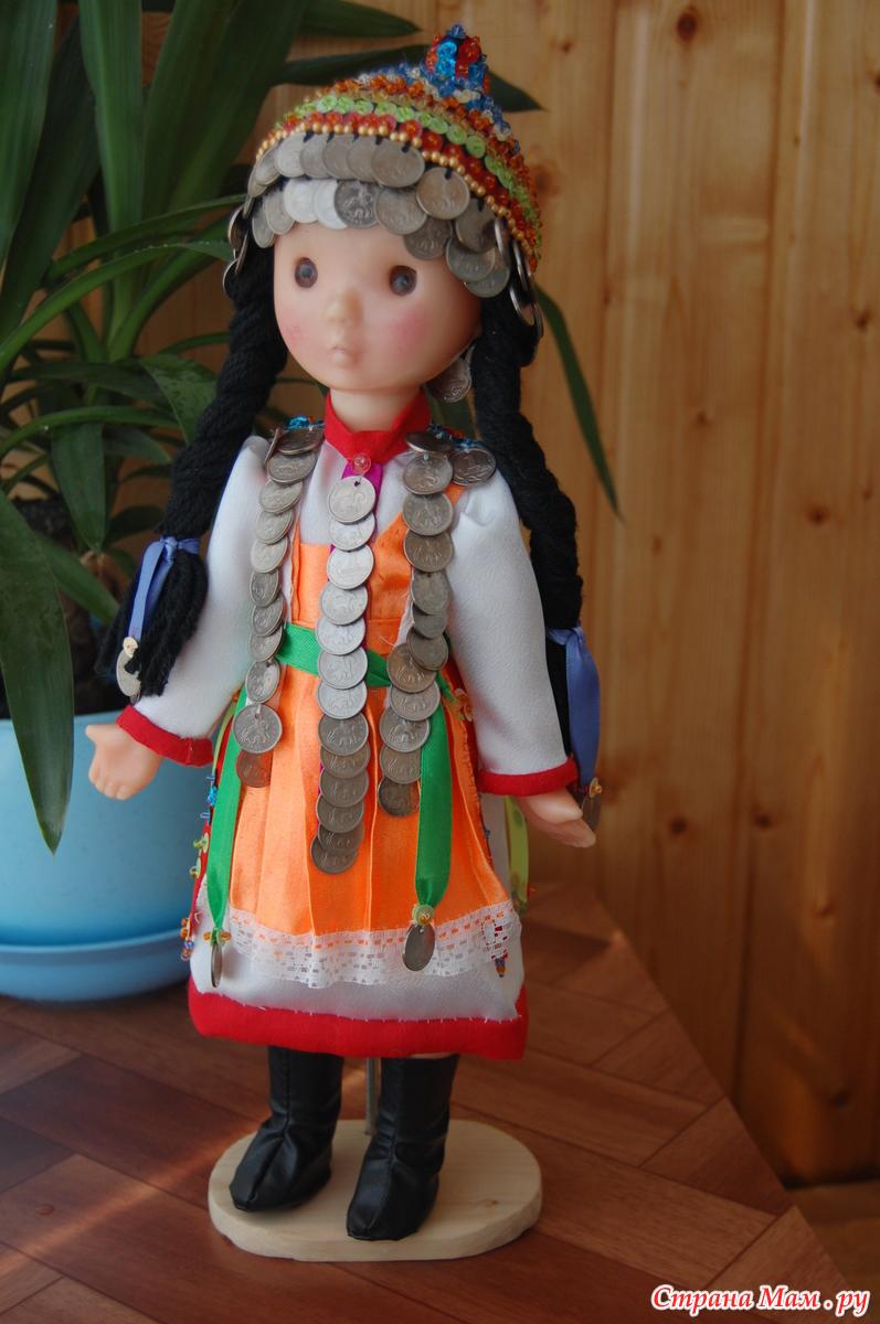 Как сделать национальную куклу фото 160