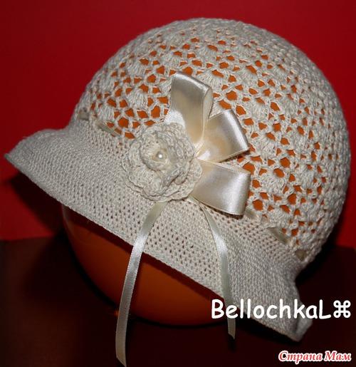 Простые шляпки-панамки на лето