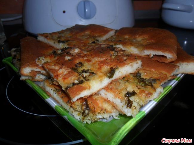 Пирог-пицца...