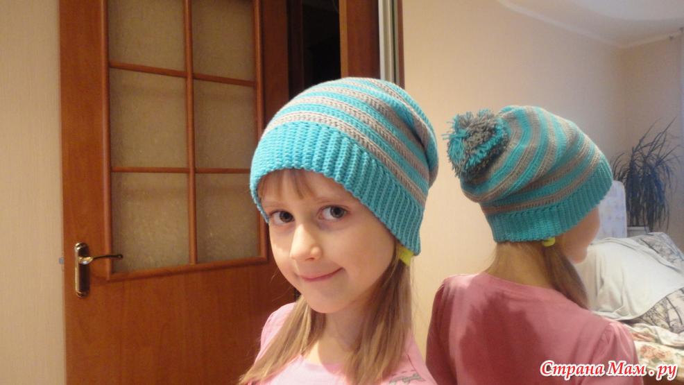 шапка чулок все в ажуре вязание крючком страна мам