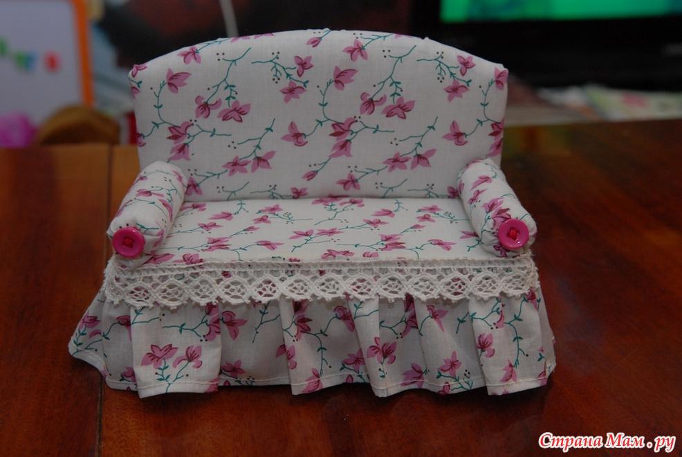Мебель для куклы своими руками фото 255