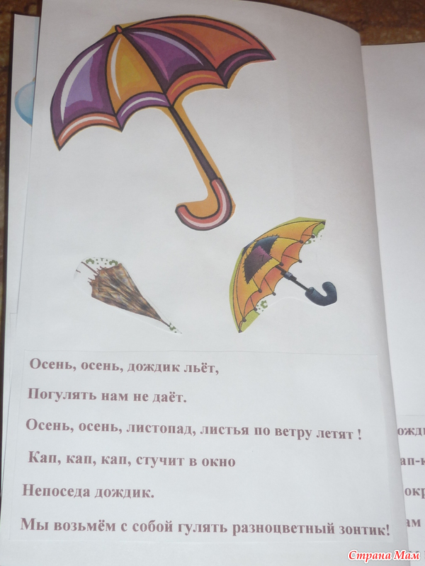 Стихи поздравления про зонт