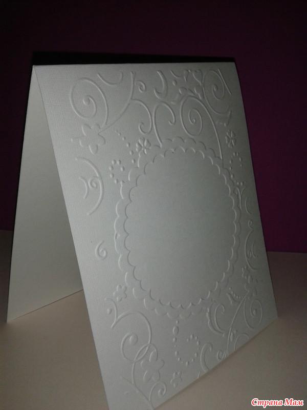 Открытка, картон плотный для открыток