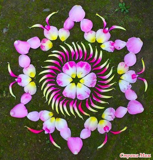 Цветочные мандалы Кэти Клейн
