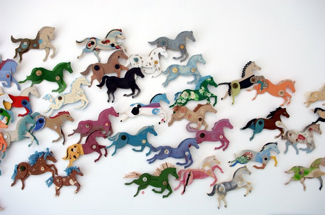 Кони, пони, лошади, делаем сами или с ребенком :) 12 вариантов как сделать символ года ;)