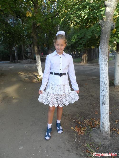 Юбка Ананас