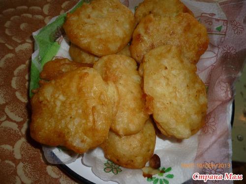 Капустные пончики