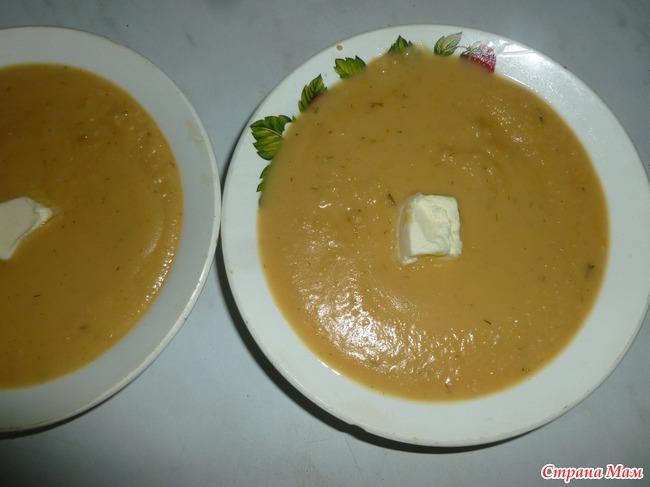 Гороховый суп-пюре или 2 в 1