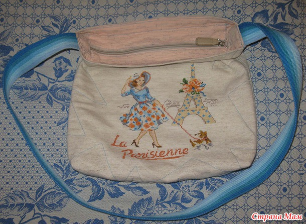 "Вторая сумочка ""Парижанка"" готова!"